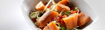 La popularité du saumon atlantique en croissance constante