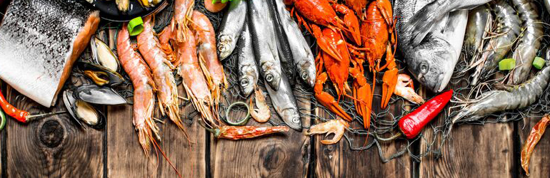 Seafood supply growth