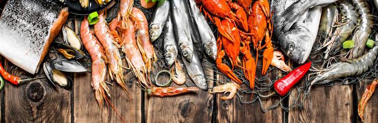 Angebotssteigerung von fisch und meeresfrüchten