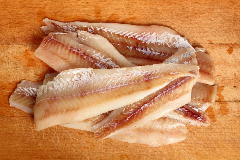 Filleted Alaskan Pollak fish